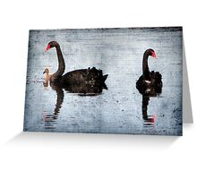 Morning on Dangars Lagoon II Greeting Card