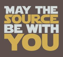 May The Source Be With You Kids Clothes