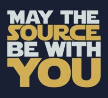 May The Source Be With You Baby Tee