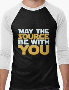 May The Source Be With You Men's Baseball ¾ T-Shirt