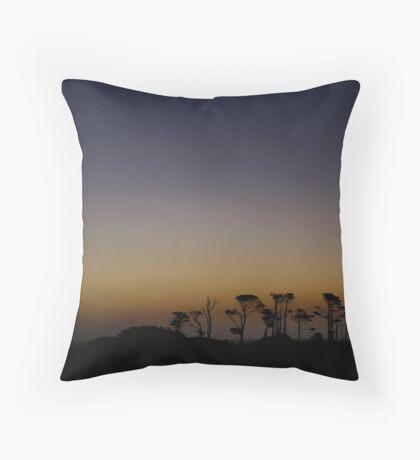 Good Night West Coast Throw Pillow