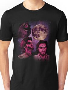 Three Bigby Wolf Moon Unisex T-Shirt