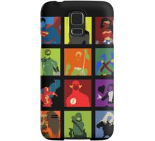 DC Comics Justice Leage Silhouettes Samsung Galaxy Case/Skin