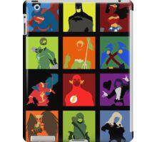DC Comics Justice Leage Silhouettes iPad Case/Skin