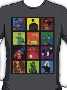 DC Comics Justice Leage Silhouettes T-Shirt