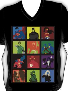DC Comics Justice Leage Silhouettes T-Shirt