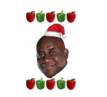 The Ainsley Harriott Christmas Jumper Photographic Print