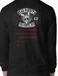 Dead Rabbits Vintage Biker Design Long Sleeve T-Shirt