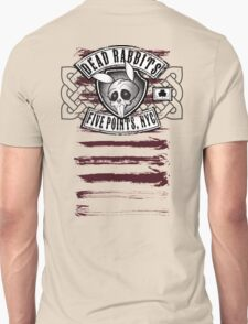 Dead Rabbits Vintage Biker Design T-Shirt