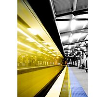 Departure Photographic Print