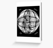 Peace Begins With Me Greeting Card
