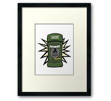 Skyrim Dawnguard Deodorant Framed Print