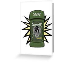 Skyrim Dawnguard Deodorant Greeting Card