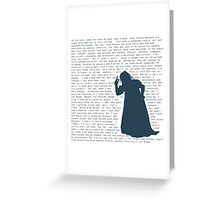 The Witch's Rap Greeting Card