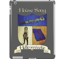 House Song Crest iPad Case/Skin