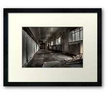 Mind Your Step Framed Print