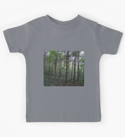 HDR Composite - Hillside and Trees Kids Tee
