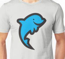 Big Blue Dolphin Unisex T-Shirt