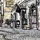 Italian Street by Warren. A. Williams