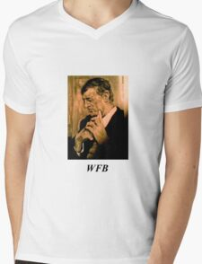William F. Buckley, Jr Mens V-Neck T-Shirt
