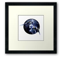 Zed - The master of shadows Framed Print