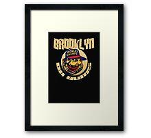 brooklyn bums Framed Print