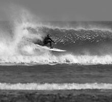 North East Surfer, Secret Spot, North Yorkshire by Greig  Cowie