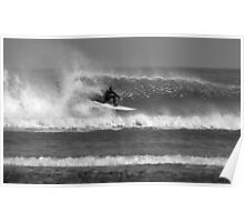 North East Surfer, Secret Spot, North Yorkshire Poster
