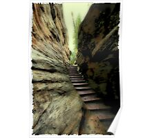 Natural Stairs Poster