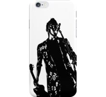 Black and white Tyler iPhone Case/Skin