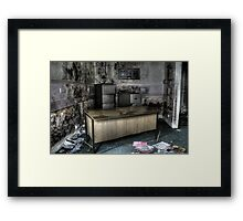 Rotten Office Framed Print