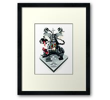 Spidy vs. Venom Framed Print
