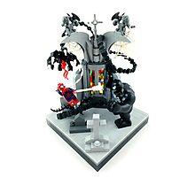 Spidy vs. Venom Photographic Print