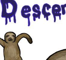 The Descent Sticker