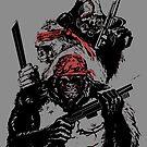 Guerrilla Gorillas Gray by Paramo