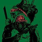 Guerrilla Gorillas Green by Paramo