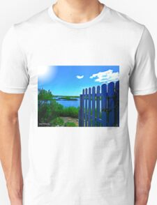 Fence Opens Up To Inlet Unisex T-Shirt