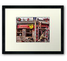 Beijing Bar Framed Print