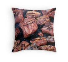 Healthy Eating Throw Pillow