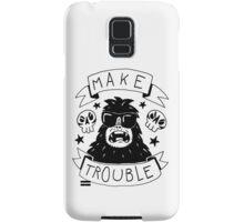Make trouble - anarchy gorilla Samsung Galaxy Case/Skin