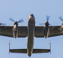 Lancaster Bomber Take Off by Lee Wilson