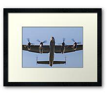 Lancaster Bomber Take Off Framed Print