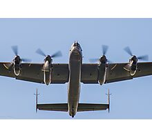 Lancaster Bomber Take Off Photographic Print