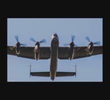 Lancaster Bomber Take Off Kids Tee