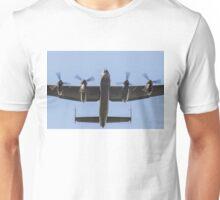 Lancaster Bomber Take Off Unisex T-Shirt