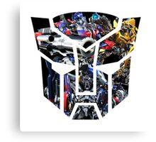 Autobot logo Canvas Print