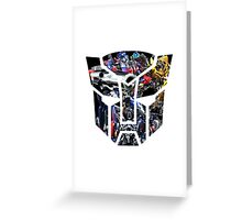 Autobot logo Greeting Card