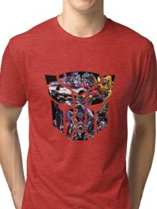 Autobot logo Tri-blend T-Shirt