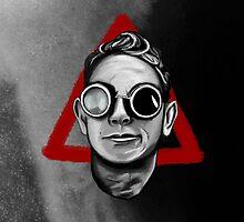 Depeche Mode : Goggles Martin Lee Gore & 2013's Delta  by Luc Lambert