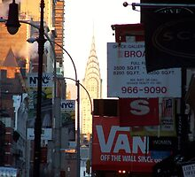 Chrysler Building by Emma and Dave Atkinson